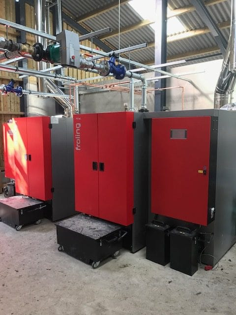 Biosmass Boiler Installation