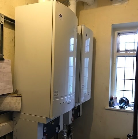Commercial Boiler Installation Church