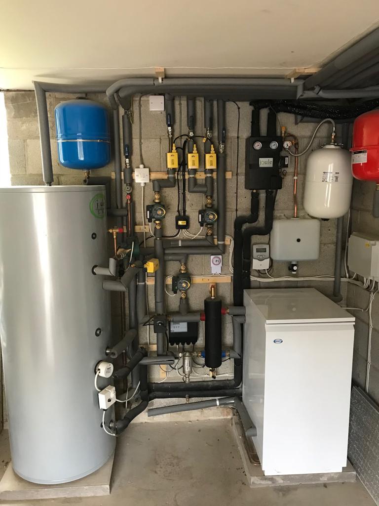 Hawkwind Oil Boiler Solar PV Thermal