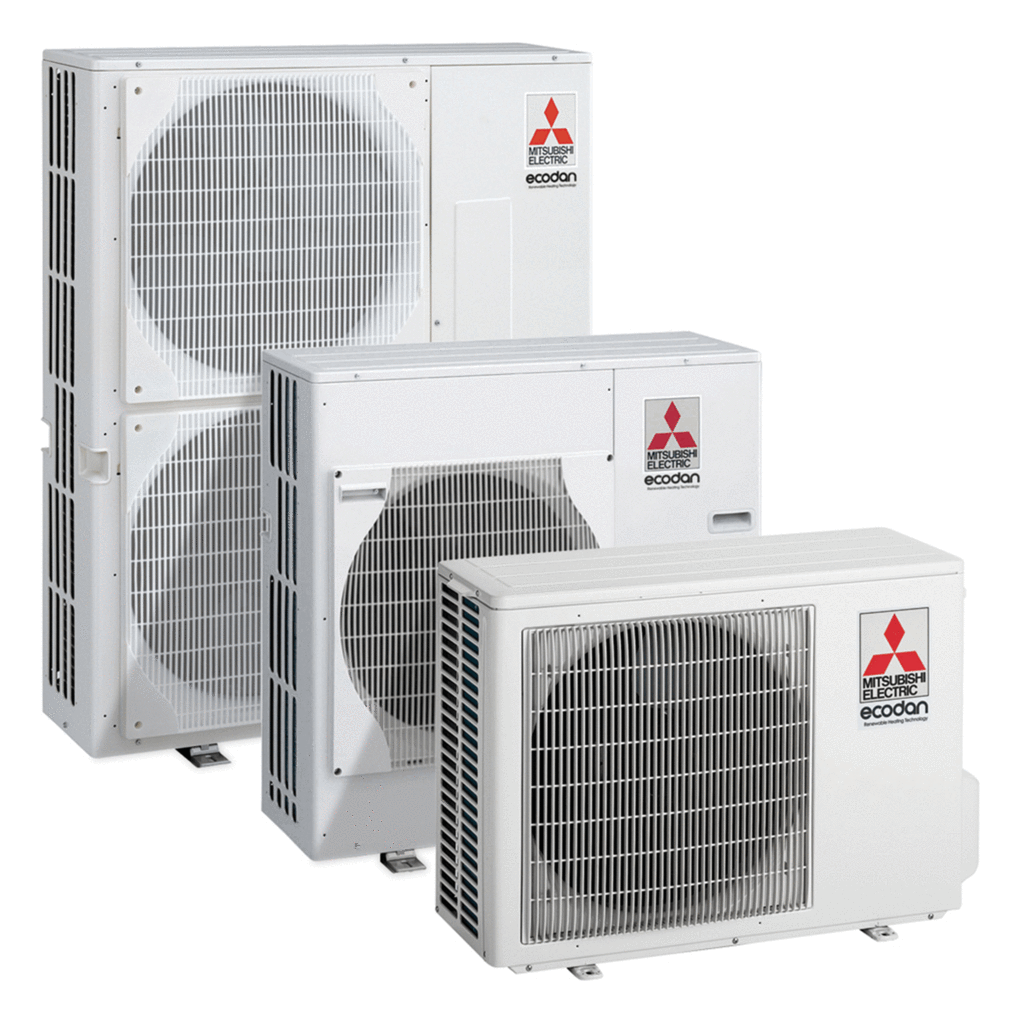 Mitsubishi Ecodan Air Source Heat Pump - Multiple